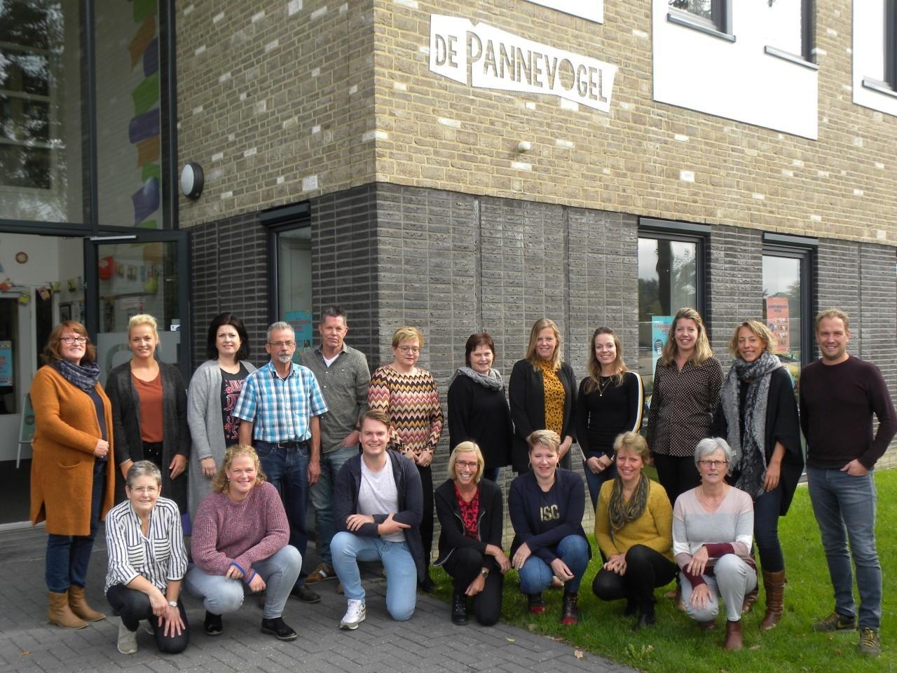 Het team van de Pannevogel